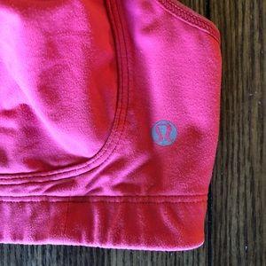 lululemon athletica Intimates & Sleepwear - Lululemon Hot Pink Adjustable Strappy Sports Bra